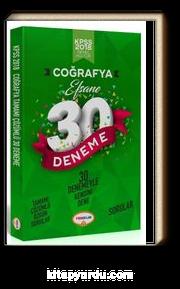 2018 KPSS Genel Kültür Coğrafya Efsane 30 Deneme