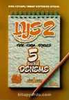 LYS 2 Fizik-Kimya-Biyoloji Çözümlü 5 Fasikül Deneme