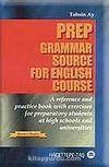 Prep Grammar Source For English Course