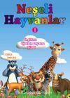 Neşeli Hayvanlar / İngilizce Öğreten Boyama Kitabı
