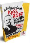 2018 KPSS Eğitim Bilimleri Ölçme ve Değerlendirme Tamamı Çözümlü Soru Bankası