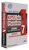 KPSS'nin Psulası Lisans 7 Çözümlü Fasikül Deneme