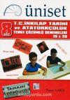 8. Sınıf TEOG 1 15x20 T.C. İnkılap Tarihi ve Atatürkçülük Çözümlü Denemeleri