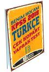 2018 KPSS Türkçe Çek Kopart Yaprak Test