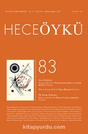 Yıl:14 Sayı:83 Ekim-Kasım Hece Öykü İki Aylık Öykü Dergisi