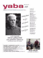 Yaba Edebiyat Sayı:105 Ekim-Kasım-Aralık 2017