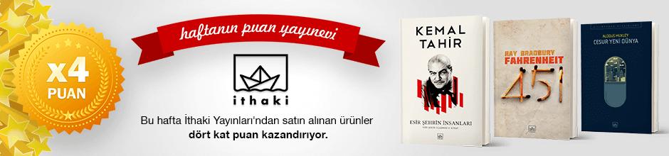 İthaki Yayınları'ndan 4 kat Ekstra Puan Kampanyası