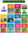 2. Sınıf İngilizce Hikayeler Seti (10 Kitap)