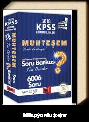 2018 KPSS Eğitim Bilimleri Muhteşem Tüm Dersler Soru Bankası