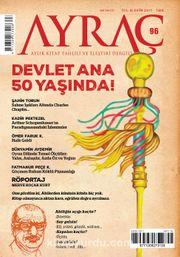 Ayraç Aylık Kitap Tahlili ve Eleştiri Dergisi Sayı:96 Ekim 2017
