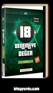 2018 KPSS Denemeye Değer 18 Türkçe Tamamı Çözümlü