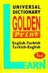 Golden Print Cep Sözlüğü / English-Turkish / Turkish-English (Plastik Kapak)