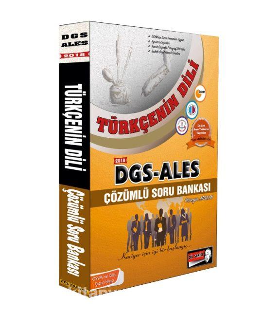 DGS - ALES Türkçenin Dili Çözümlü Soru Bankası (Sözel Yetenek)