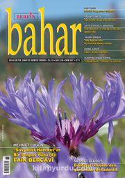 Berfin Bahar Aylık Kültür Sanat ve Edebiyat Dergisi Ekim 2017 Sayı: 236