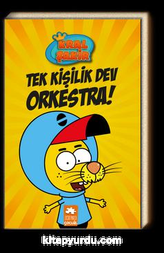 Kral Şakir 1 / Tek Kişilik Dev Orkestra! (Ciltli)