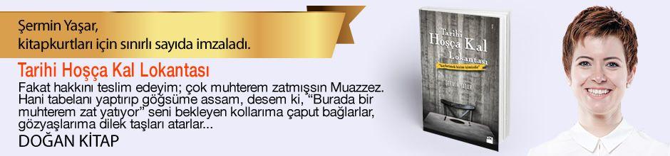 Tarihi Hoşça Kal Lokantası. Şermin Yaşar, Kitapkurtları için Sınırlı Sayıda İmzaladı.