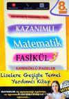 8. Sınıf Kazanımlı Matematik Fasikül 3 - Kareköklü İfadeler