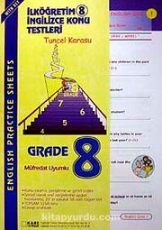 İköğretim-8 İngilizce Konu Testleri / English Practice Sheets