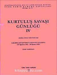Kurtuluş Savaşı Günlüğü- IV - Zeki Sarıhan pdf epub