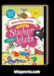 Aktiviteli Sticker Kitabı / Deniz Hayvanları