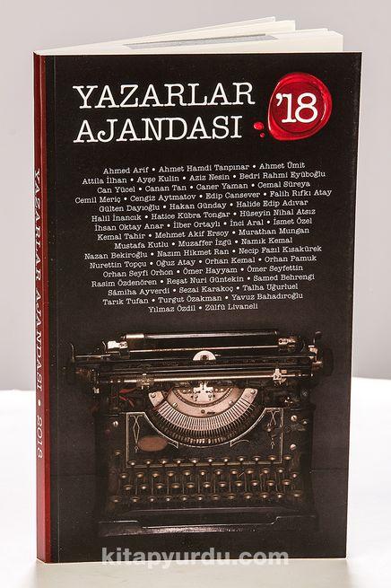 2018 Yazarlar Ajandası (Küçük Boy)
