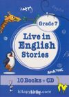 Live in English Stories Grade 7 (10 Books+Cd)