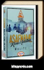 2018 KPSS A Asafname Maliye Konu Anlatımlı