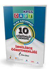 2018 KPSS ÖABT İngilizce Öğretmenliği Alan Savunması 10 Çözümlü Deneme