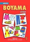 Eğitici Boyama Giyisiler-5