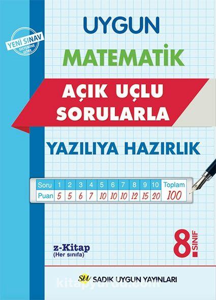 8. Sınıf Matematik AçıkUçlu Sorularla YazılıyaHazırlık