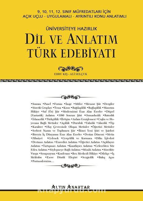Dil ve Anlatım Türk Edebiyatı - Ali Selçuk pdf epub