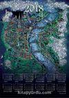 2018 Takvimli Poster - Minyatürler - Nusret Çolpan - Köln