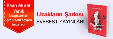 Uzakların Şarkısı. Kaan Murat Yanık, Kitapkurtları için Sınırlı Sayıda İmzaladı.