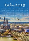 2018 Takvimli Poster - Şehirler - Köln
