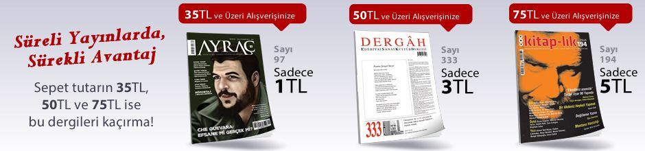 """35TL ve Üzeri Alışverişinize """" Ayraç Dergisi Sayı:97 Kasım 2017 """" Sadece 1 TL"""
