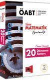 2018 ÖABT Olasılık Lise Matematik Öğretmenliği Tamamı Çözümlü 20 Deneme Sınavı