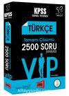 2018 KPSS Değişim Serisi VIP Türkçe Tamamı Çözümlü 2500 Soru Bankası