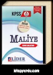 2018 KPSS A Grubu Maliye Konu Anlatımlı