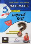5. Sınıf Matematik Çek Kopar Yaprak Test