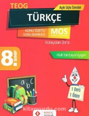 8. Sınıf TEOG Türkçe Konu Özetli Soru Bankası