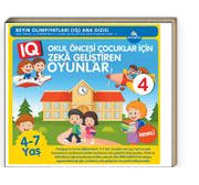 Okul Öncesi Çocuklar İçin IQ Zeka Geliştiren Oyunlar 4  (4-7 Yaş)