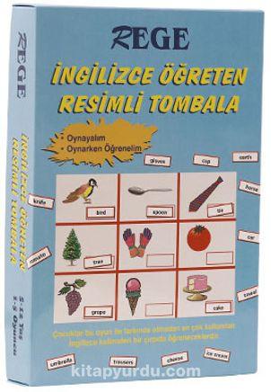 İngilizce Öğreten Resimli Tombala 1