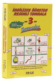 İngilizce Öğreten Resimli Tombala 3 (Kavramlar)
