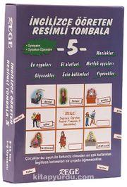 İngilizce Öğreten Resimli Tombala 5