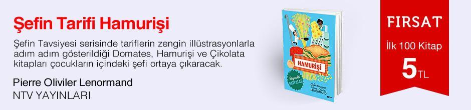 Fırsat ilk 100 kitap 5 TL - Pierre Oliviler Lenormand - Şefin Tarifi Hamurişi