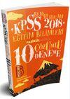 2018 KPSS Eğitim Bilimleri Tamamı Çözümlü 10 Deneme