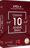 2018 KPSS A Grubu Fasikül Fasikül Çözümlü 10 Deneme Sınavı