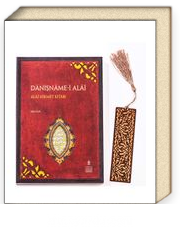 Danişname-i Alai + Ahşap Ayraç - Lale - Rölyef Cevizli