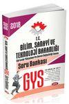 2018 GYS Bilim Sanayi ve Teknoloji Bakanlığı Soru Bankası