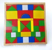 Ahşap Tangram Oyunu (48 Parça)